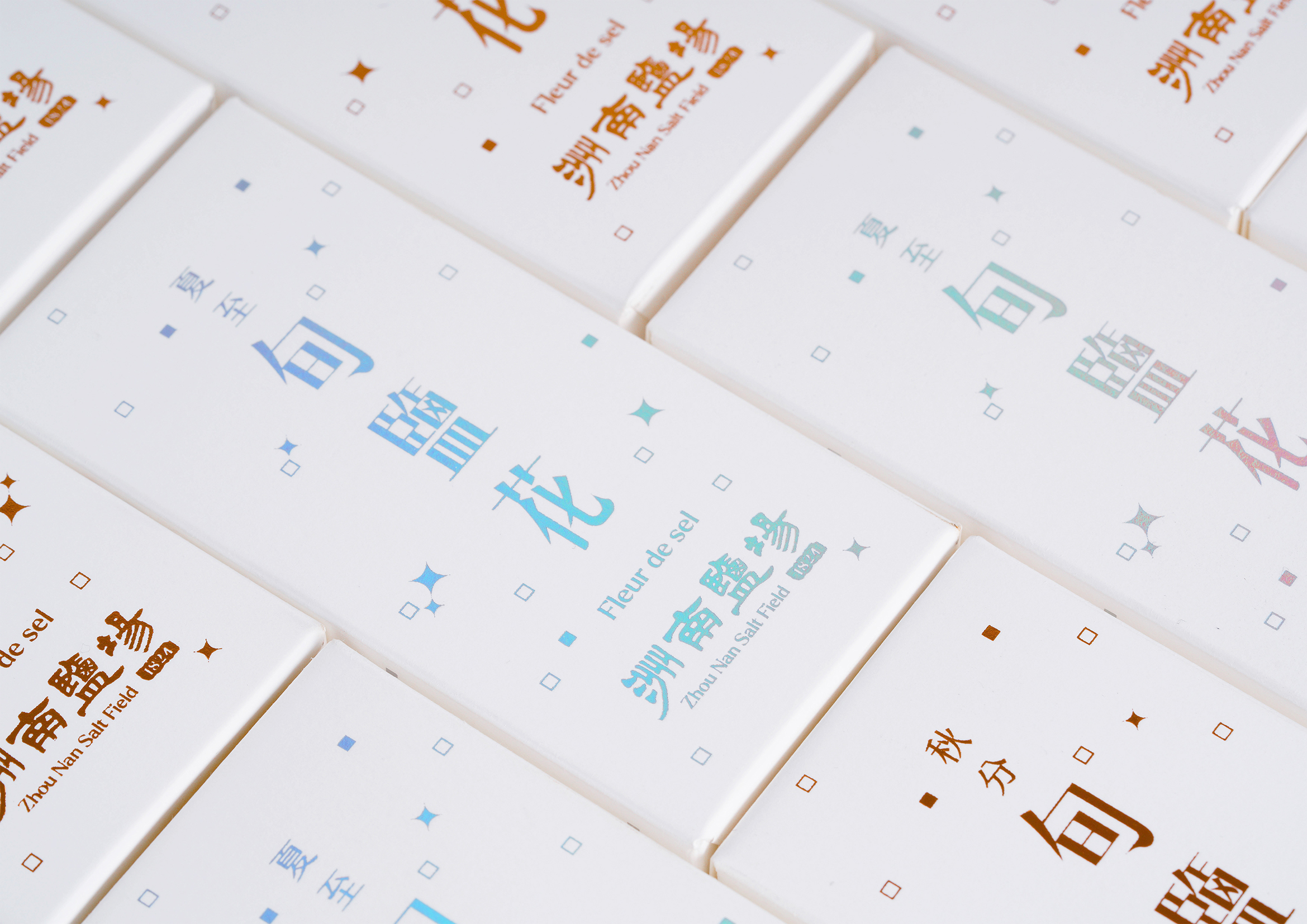 洲南鹽場 旬鹽花 Fleur De Sel of the 24 solar terms