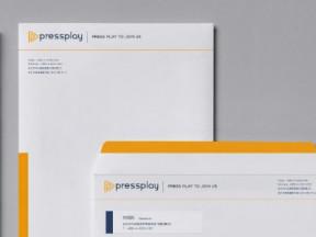 PressPlay群眾訂閱企業識別形象設計